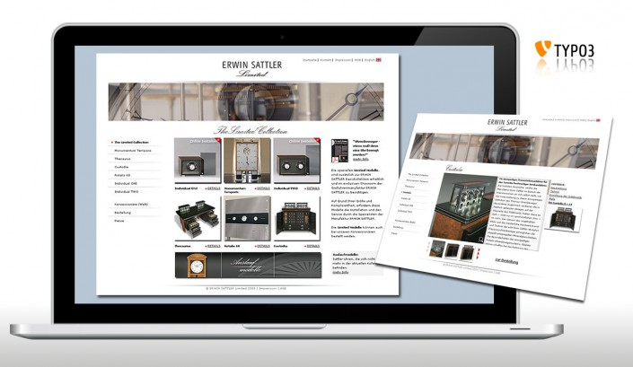 OnlineShop, Screen-, Web-Design